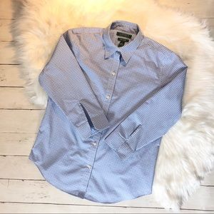 Ralph Lauren size small button down 3/4 sleeves.